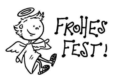 """Frohes Fest!"" groß"
