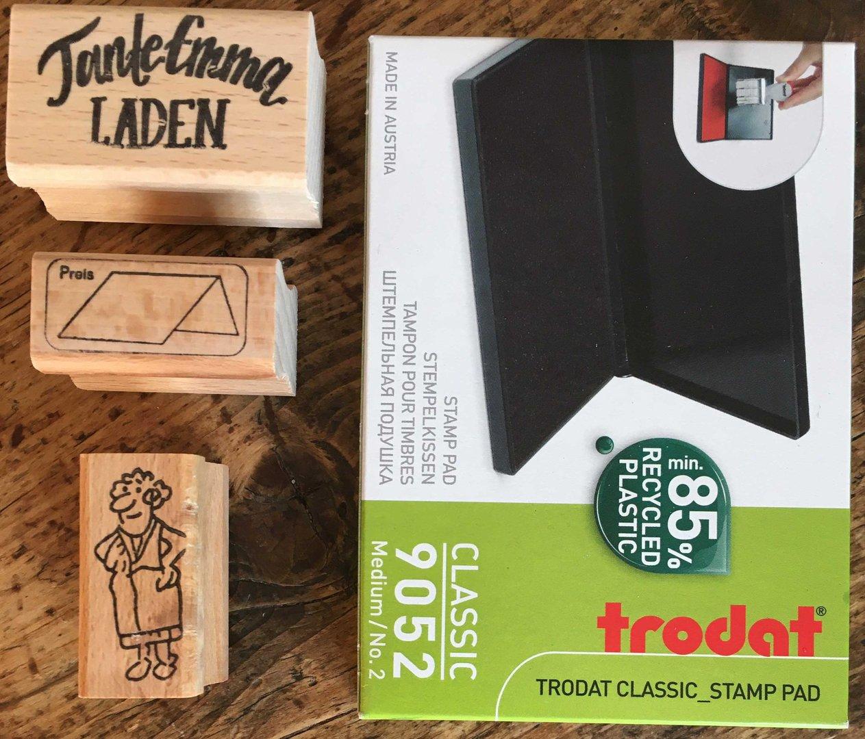 Stempelkissen von Trodat Made in Austria Stamp Pad Classic #